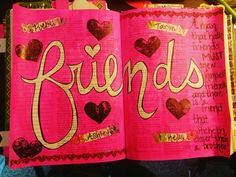 """I have made some fantastic friends along my bible journaling journey! Thank you all so much for the inspiration support and love! Yall are truly amazing! """"A man that hath friends must shew himself friendly;  and there is a friend that sticketh closer than a brother."""" Proverbs 18:24  #biblejournaling #biblejournalingcommunity #illustrateyourfaith #godlyfriends #ladieswholovethelord #friends http://ift.tt/1KAavV3"""