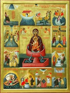 Byzantine Icons, Byzantine Art, Religious Icons, Religious Art, Greek Icons, Colonial Art, Religious Paintings, Blessed Mother Mary, Best Icons