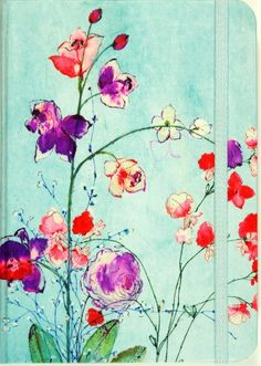 Fuchsia Blooms Journal (Diary, Notebook) by Peter Pauper Press http://smile.amazon.com/dp/1441315594/ref=cm_sw_r_pi_dp_c9URvb1EVYCCM