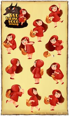 Red Riding Hood - Hidden Story on Character Design Served