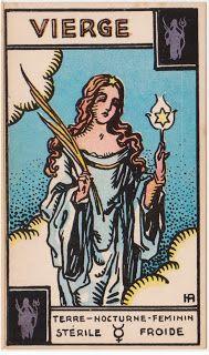 Cartas do Destino: Destino e Tarô: Tarot Astrologique - A Carta 1º De...
