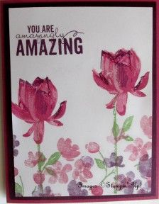 """Stampin' Up! """"Lotus Blossom"""" and """"Painted Petals"""" stamp sets ..."""