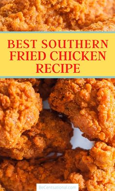 Country Fried Chicken, Southern Chicken, Making Fried Chicken, Fried Chicken Recipes, Crispy Chicken, Quick Recipes, Quick Meals, Deep Fryer, Southern Style