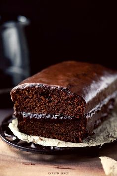 Traditional Polish Gingerbread (recipe translated from polish) Köstliche Desserts, Chocolate Desserts, Chocolate Cake, Delicious Desserts, Chocolate Heaven, Gingerbread Cake, Food Cakes, Cupcake Cakes, Dessert Pizza