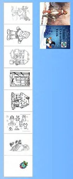 mini printable coloring book by Carol Lester of The Dolls House Mall