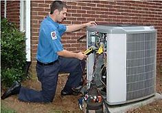 HVAC service technicians are on call