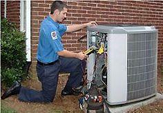 HVAC service technicians are on call