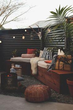 #backyards #ideas #outdoordecor #outdoorlighting