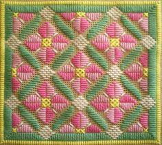 Rose Romance Long Stitch Needlepoint Pattern