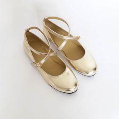 Mia Criss-Cross Ballerina Handmade to order by goldenponies