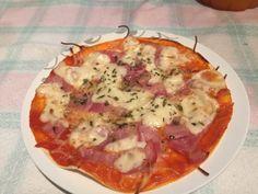 Mini pizzas con masa de Fajitas | Cocina