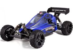 RedCat Racing Rampage XB Buggy 1/5 Scale Gas (With 2.4GHz Remote Control) Blue