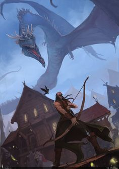 Bard and the last flight of Smaug