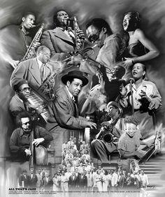 All That's Jazz Wishum Gregory Fine Art Print Poster