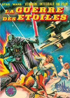 Vintage Star Wars comic