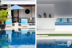 Postcards from Bali Villa Windu Asri #travelshopa #bali #poolside
