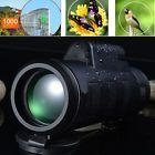 Hunting Hiking Camping 40X60 HD OPTICS BAK4 Day Night Vision Monocular Telescope