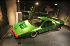 Alfa Romeo Carabo, maillon incontournable du design automobile