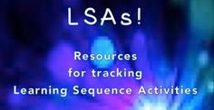 MLT, easy as Do Re Mi:   A Music Learning Theory classroom: Resources for tracking Learning Sequence Activities