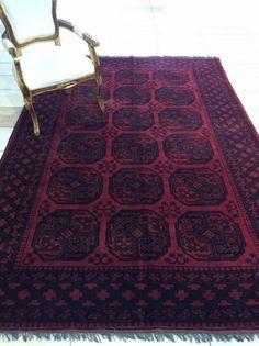 Afgàn nomàd kèzi szőnyeg 2x3m