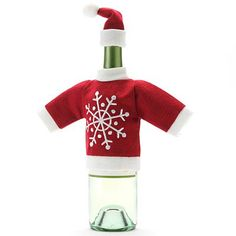 Food Network Snowflake 2-pc. Wine Bottle Cover Set