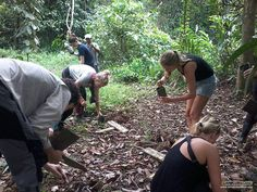Learning about conservation is most valued and inspiring when practising, which our adventurers' contribute their selfless volunteering efforts to the local communities' tree planting project :)
