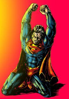Superman (color) by Rayluaza.deviantart.com on @deviantART