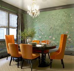 de Gournay wallcoverings are true works of art