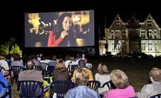 Cine al aire libre #Santander #Palacio #Magdalena #centenario #Cantabria #España