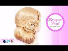 Peinados: Recogidos Faciles con Trenza en Flor PASO A PASO