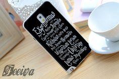 Harry Potter Black Magic Spells Phone Case For iPhone Samsung iPod – Feeiva