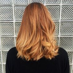 Strawberry blonde forever! Balayage by Lauren | Yelp