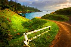Breathtakingly beautiful!!! Norfolk Island - is part of the Commonwealth of Australia, but it enjoys a large degree of self-governance. Together with two neighbouring islands, it forms one of Australia's external territories. It has 2,300 people living on 35 km2. Its capital is Kingston. ~ ~ ~ On MM's Bucket List!!!