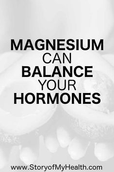 Magnesium is a very important part of maintaining balance for our hormones. It is extremely easy to be deficient in magnesium in our modern day world. Natural Home Remedies, Natural Healing, Herbal Remedies, Health Remedies, Natural Oil, Natural Beauty, Health Tips, Health And Wellness, Health Fitness