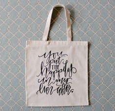 Sweet wedding day or anniversary gift bag