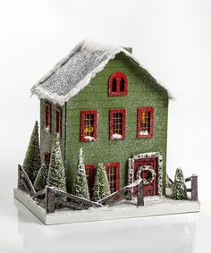 Look at this Christmas Cottage Décor on #zulily today!