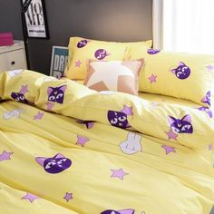 Chibi Usa Luna P Bedding 4 Pieces Set SP166332