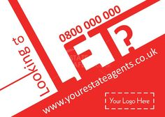 Looking to let?  Product Code: E0953  Browse through hundreds of Estate Agent design templates! by @estateagentleaflets Visit our website for more information! #leaflet #estateagentleaflets #estateagents