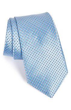 Nordstrom 'Shadow Grid' Silk Tie