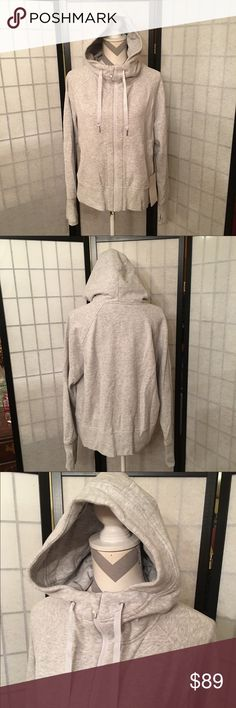 Lululemon Jacket New Back to it hoodie size 12, new with tags. Love it, it's just too big for me. Relaxed fit, hip length, no flaws.  Happy to bundle :)   All items come from a clean, non smoking home.   Check out my other items! Lots of Nike, Victoria Secret, Under Armour, Lululemon, American Eagle, J Crew, Athleta, Buckle & Miss Me items. lululemon athletica Jackets & Coats