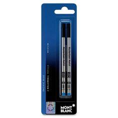 Medium Point Rollerball Pen Refill (2 Pack)