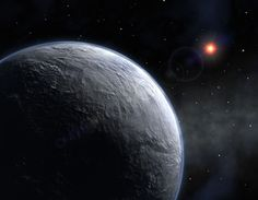 Coldest and Farthest From Us  Credit: ESO  With a surface temperature of -364 degrees Fahrenheit (-220 degrees Celsius), the extrasolar planet known as OGLE-2005-BLG-390L b is likely the coldest alien world. It is about 5.5 times as massive as Earth and thought to be rocky. It orbits a red dwarf star about 28,000 light-years away, making it the most distant exoplanet currently known. [Full Story] http://www.space.com/2006-holy-grail-small-rocky-worlds.html