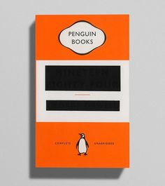 George Orwell / Nineteen Eighty-Four - cover design by David Pearson