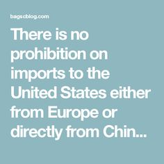 There is no prohibition on imports to the United States either from Europe or directly from China. However, if the brushes are made with Mustela sibirica hair, then the specimens must comply with all CITES requirements.