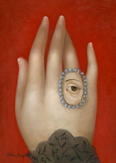 Hand With Lover's Eye | Fatima Ronquillo