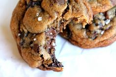 Nutella, sea salt, chocolate chip cookies.  Um, yum!