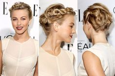 Juliane hough braided style