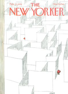 The New Yorker - Monday, February 13, 1978 - Issue # 2765 - Vol. 53 - N° 52 - Cover by : Robert Weber