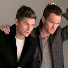 Newlyweds Neil Patrick Harris and David Burtka are starring in London Fog's holiday campaign, and InStyle has all the details from the photo shoot. David Burtka, David Boreanaz, Neil Patrick Harris, How I Met Your Mother, Celebrity Travel, Alyson Hannigan, Matthew Mcconaughey, Victoria Justice, Meryl Streep
