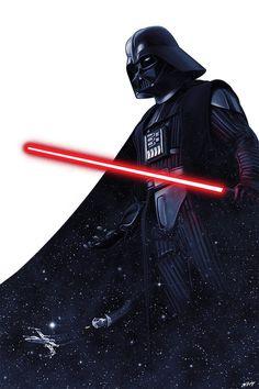 Anakin Vader, Darth Vader Lightsaber, Vader Star Wars, Cuadros Star Wars, Star Wars Tattoo, Star Wars Pictures, Star Wars Wallpaper, Star Wars Fan Art, Alternative Movie Posters